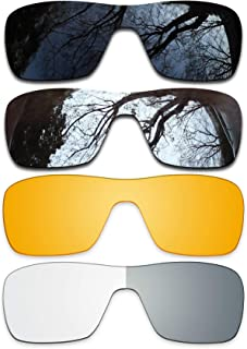 ToughAsNails Set of 4 Replacement Lenses Oakley Turbine Rotor Pack-BSHP6