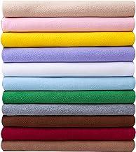 Polar Fleece Stof, Dikke Korte Pluche Koraal Fleece Patchwork, Dressing Fleece Stof DIY-materiaal(Color:beige)