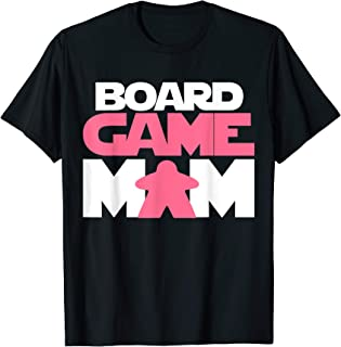 Board Game Mom T-Shirt. Meeple Tabletop Role Play RPG