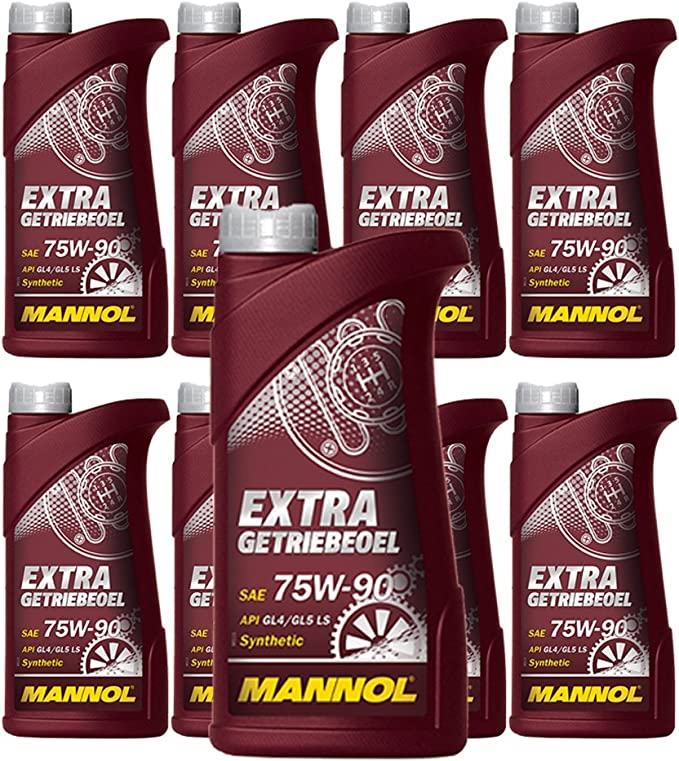 Mannol X 1l Extra Gear Oil 75w 90 Api Gl 5 Limited Slip Synthetic Manual Transmission Axle Oil Auto