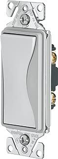 EATON 9501WS Core Aspire Rocker Switch, 120/277 Vac, 15 A, 1 P