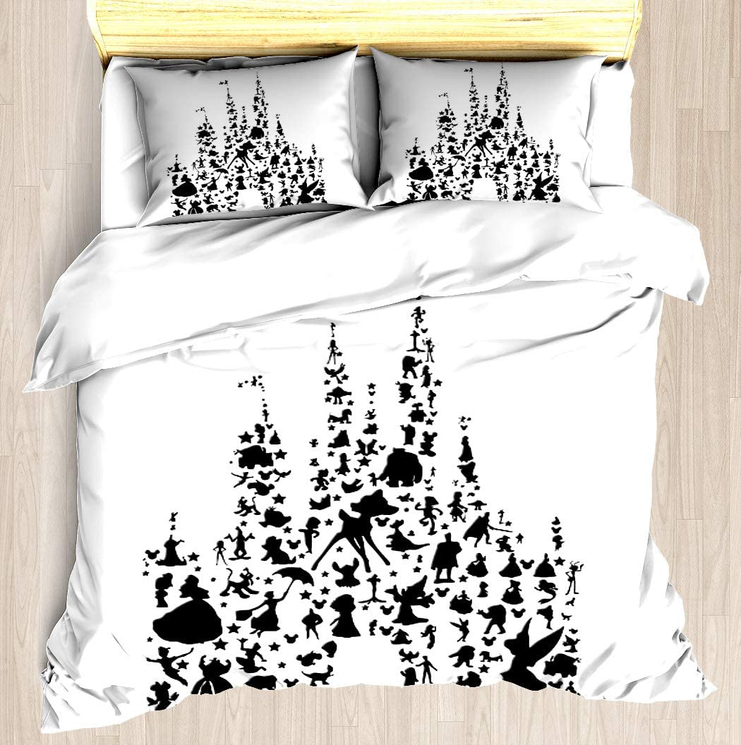 NTCBED Happiest Castle On Earth - Set Spring new work Cover Duvet S Bedding Max 67% OFF Soft