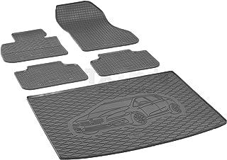 Passende Gummimatten und Kofferraumwanne Set geeignet für BMW 2 Active Tourer ab 2015ein Satz + Gurtschoner