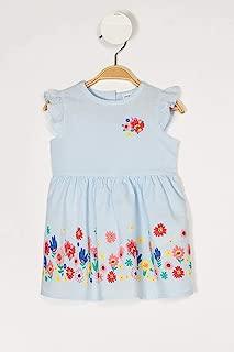 DeFacto Kız Bebek Çiçekli Düğmeli Elbise