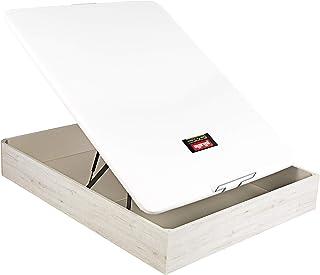 PIKOLIN Canapé/Abatible NATURBOX Color Glaciar (Base de Madera para colchón con Almacenamiento/Wooden Base for Mattress with Storage) Altura: 32 cm. (135x190 cm)
