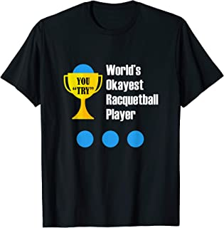 Best racquetball shirts funny Reviews