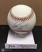 Signed Bob Turley Baseball - Official American League Al Inscribed #19 Cert - JSA Certified - Autographed Baseballs