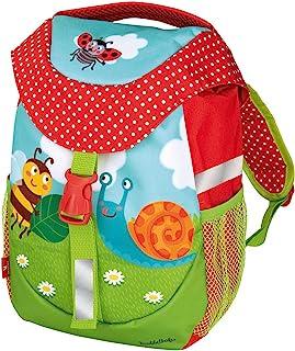 Mochila para niños con correa para el pecho, para niñas y niños, 30 cm, multicolor