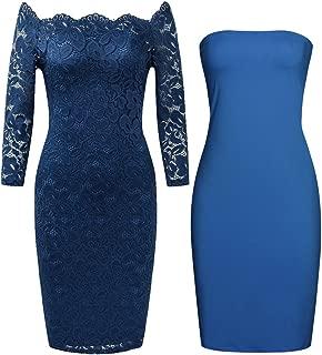 Best zara navy blue lace dress Reviews