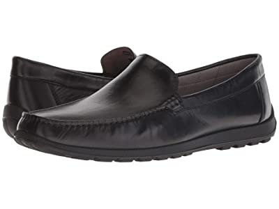 ECCO Reciprico Classic Moc (Black Cow Leather) Men