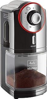 Melitta Molino Kaffekvarn, 100 W, upp till 200 g, Svart