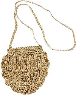 Monrocco Straw-Woven Bag New Type Single Shoulder Slant Women's Bag Beach Bag