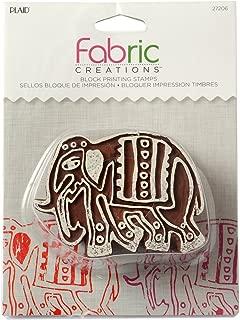 Fabric Creations Block Printing Stamps, 27206 Medium Parade Elephant