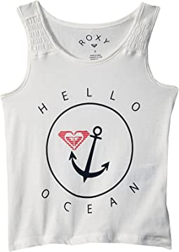 Roxy Kids - Wayfaring Stranger Hello Ocean Tank Top (Toddler/Little Kids/Big Kids)