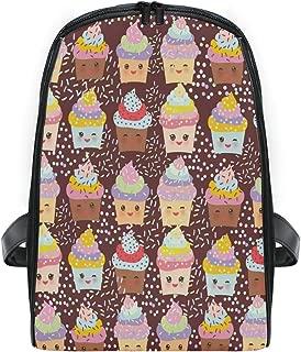 ZZXXB Ice Cream Backpack Kids Toddler Child Preschool Kindergarten Waterproof Book Bags Travel Daypack for Boys and Girls