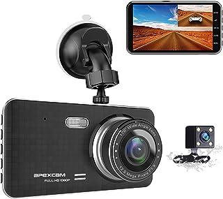 """Apexcam Cámara de Coche Dash CAM 4.0"""" IPS 1080p FHD"""