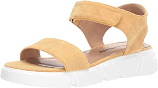 Dirty Laundry by Chinese Laundry Women's ASHVILLE Sandal, YELLOW SUEDE, 8 M US