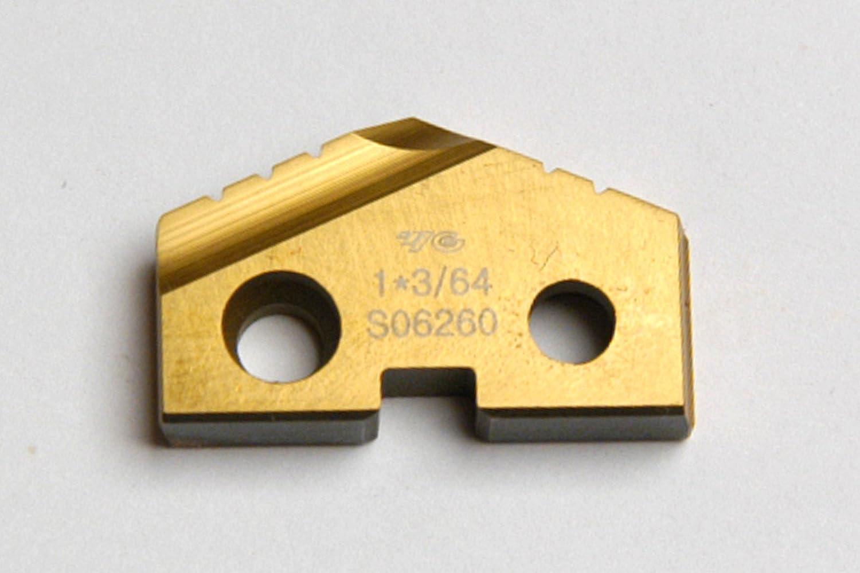 1-3 64 1.0468 DIAMETER SPADE DRILL TIN Max 59% OFF SERI INSERT T-15 COATED Tulsa Mall