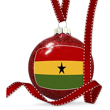 Neonblond Christmas Decoration Grenada Flag Ornament Home Kitchen