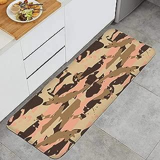 UK Millitary Camo Desert Anti-Fatigue Kitchen Floor Mat Dry Fast Rug Doormats Outdoor Indoor Printted Floormat