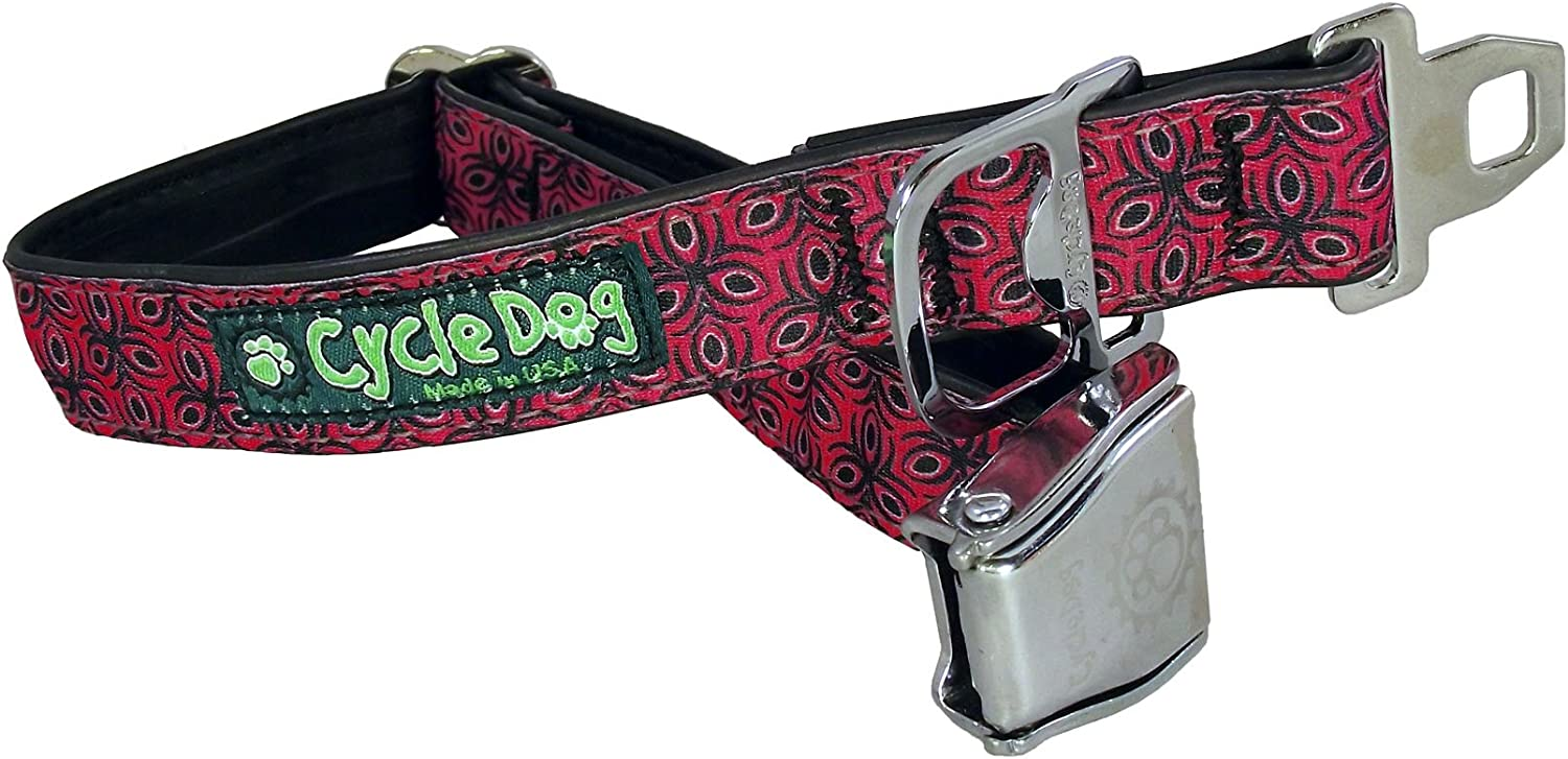 Cycle Dog Bottle Max 88% OFF Opener Recycled Metal Seatbelt with Time sale Collar