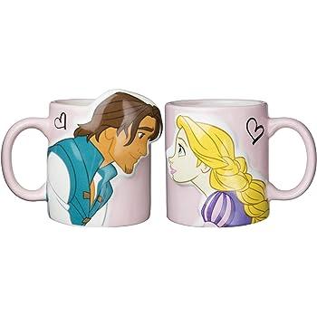 Tangled Coffee Cup by Disney Disney Store Disney Fairytale Designer Collection Princess Rapunzel and Flynn Rider Mug