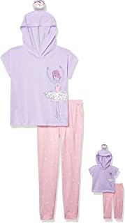 10//12 Eve Girls 3-piece Sleep Pajama Set Id Rather Be In Bed, Medium St
