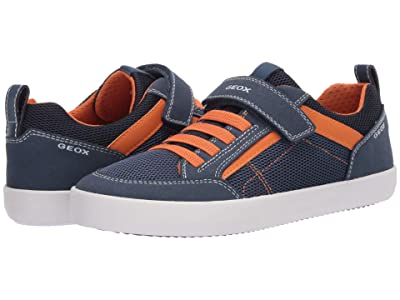 Geox Kids Kilwi 44 (Big Kid) (Blue Orange) Boy