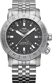 Glycine - Reloj Automático Glycine Airman 42, GL 293, GMT, Gris, GL0065