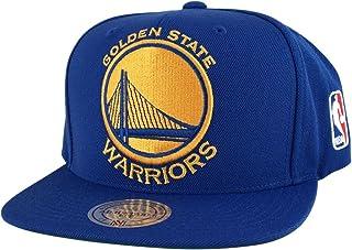 a9ff04d9f58a9 Mitchell and Ness Golden State Warriors Blue Xl Logo Snapback Hat Cap