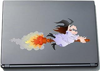 Naklejka na laptopa - czarownica 08 - witch - laptop skin - 297 mm naklejka