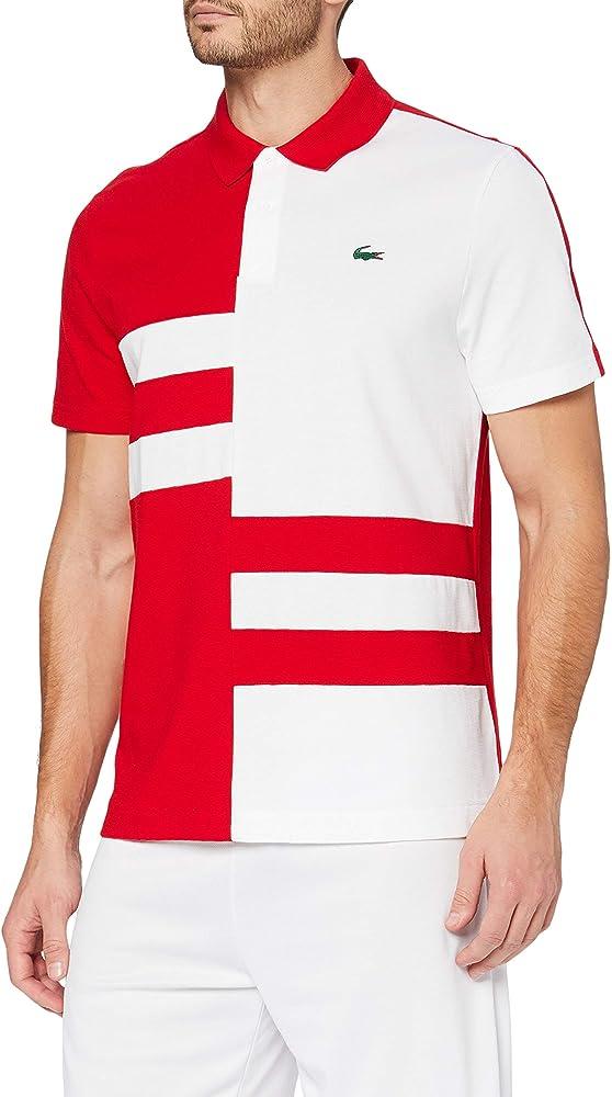 Lacoste polo,maglietta per uomo maniche corte,100% cotone YH2058R