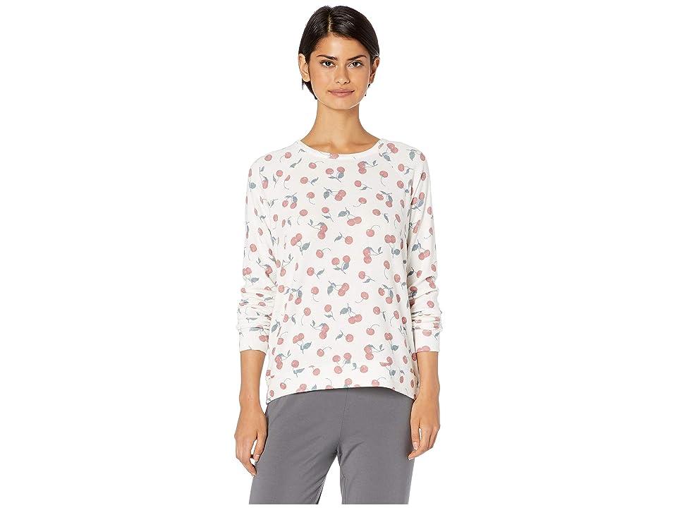 P.J. Salvage Mon Cheri Cherry Sweater (Ivory) Women