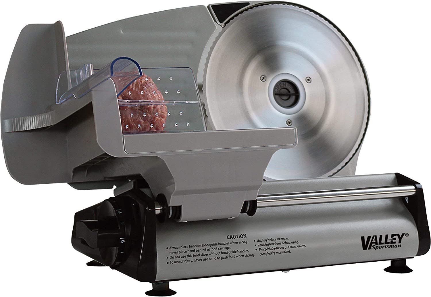8.7in. Stainless Steel Electric Slicer and trend rank Today's only Meat Food