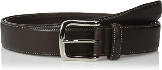 Cole Haan Mens Belt  CHOCOLATE Split Leather Strap Roller 42 New Menwomenstyles
