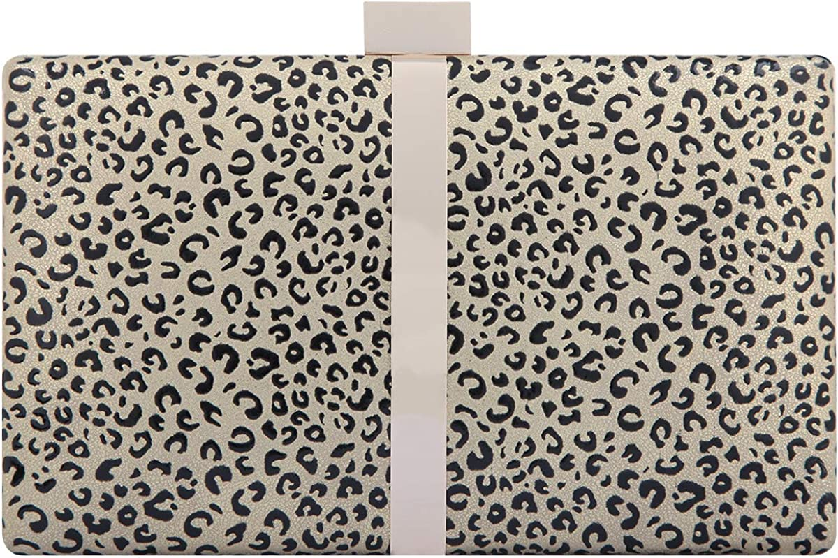 Fawziya Clutches Leopard Evening Bags For Women Formal