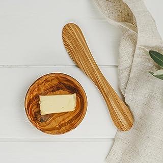 Naturally Med OL062 Cuchillo de mantequilla, marrón