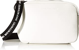 Calvin Klein CKJ Double Zip Camera Bag Bright White