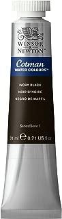 Winsor & Newton, Ivory Black Cotman Water Colour Paint, 21ml tube, 21-ml