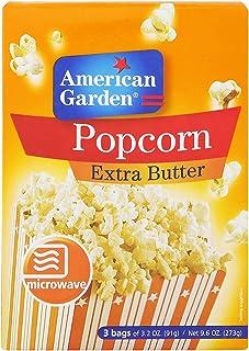 American Garden Pop Corn With Extra Butter, 273 gm