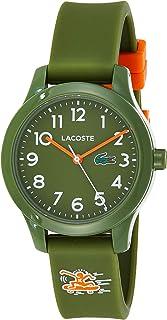 Lacoste Unisex-Child Quartz Watch, Analog Display and Silicone Strap 2030015
