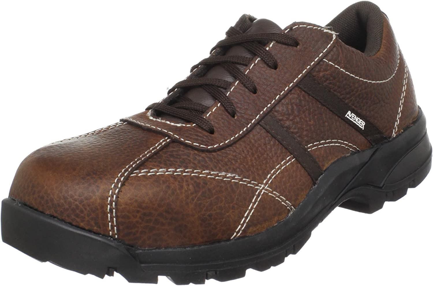 Avenger Work Boots A7150 Women's Safety Work Shoes, 10 W
