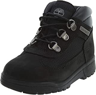 Timberland Boys Field Nubuck Lace-Up Ankle Boots