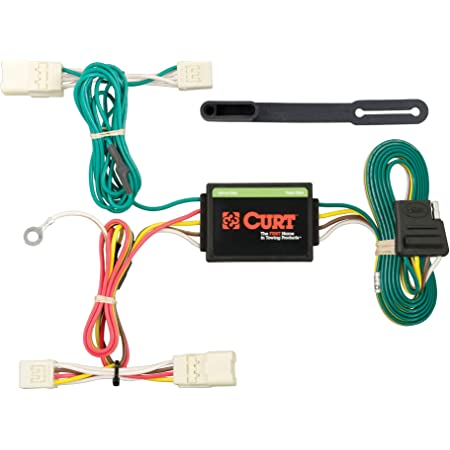 CURT 56412 Vehicle-Side Custom 4-Pin Trailer Wiring Harness Select Mitsubishi Outlander PHEV