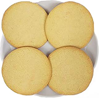 Plain Uniced Round Sugar Cookies to Decorate (4