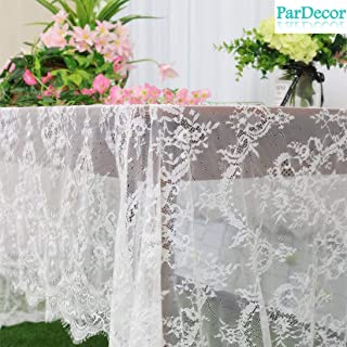 Best tulle tablecloth overlay Reviews