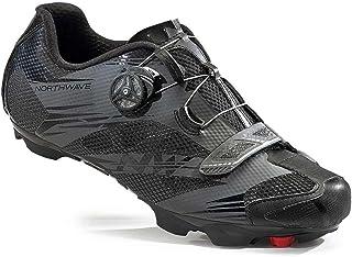 Northwave Man MTB XC Shoes Scorpius 2 Plus Black/Military/Fluo Yellow