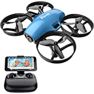 Potensic A30W WiFi FPV Drone 720P HD Camera, RC Quadcopter for Beginners with Altitude Hold,...