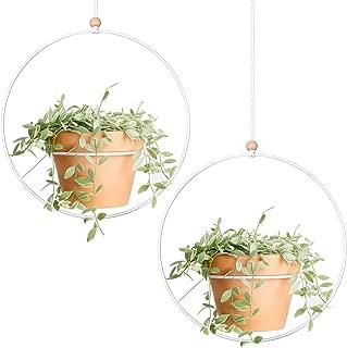 hanging planters metal