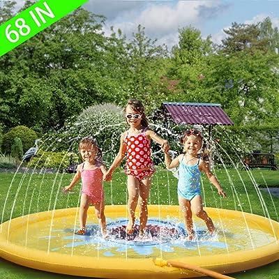 "Sprinkler for Kids 68"" Outdoor Water Toys for 2..."